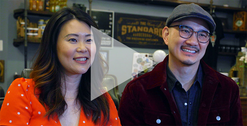 Wendy Wong and Tommy Cheung, The Standard Barber Shop