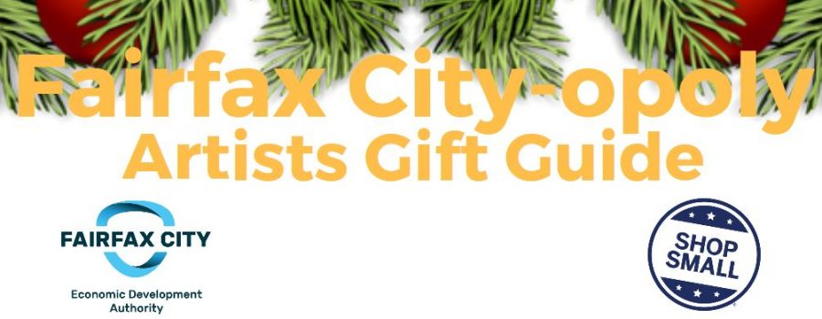 Fairfax City-opoly Artists Gift Guide