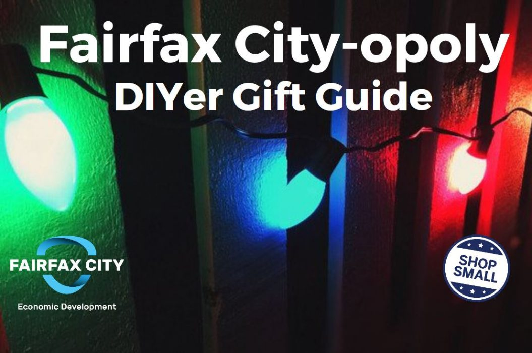 Fairfax City-opoly DIYer Gift Guide