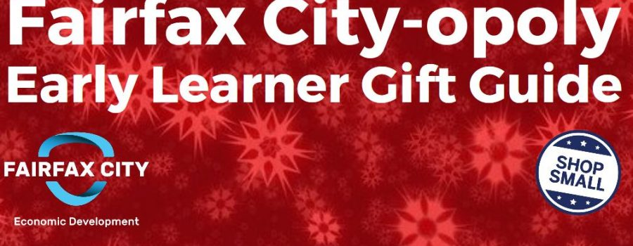 Fairfax City-opoly Early Learner Gift Guide