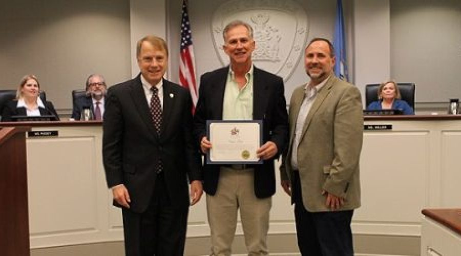 Recognition of Commissioner Chris Todd