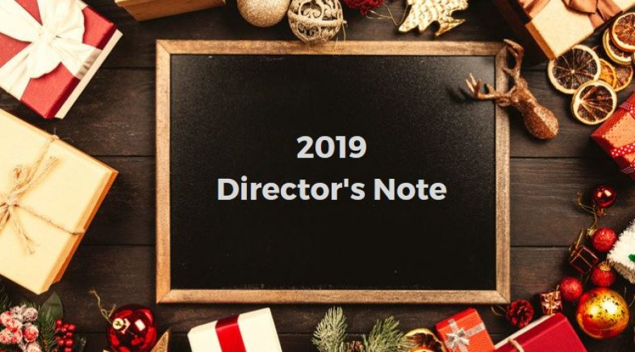 2019 Director's Note