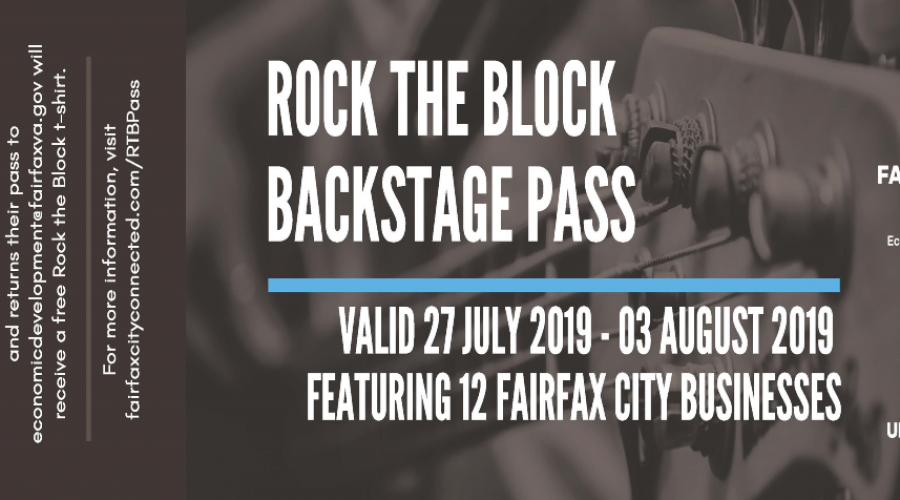 Rock the Block Backstage Pass