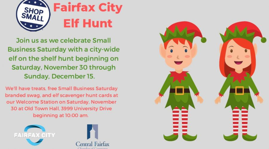 Fairfax City Elf Hunt