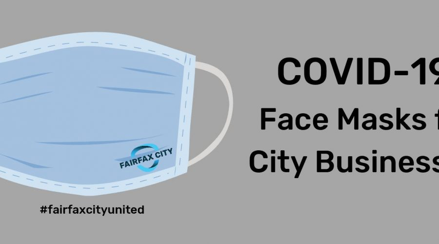 COVID-19 Face Masks for Fairfax City Businesses