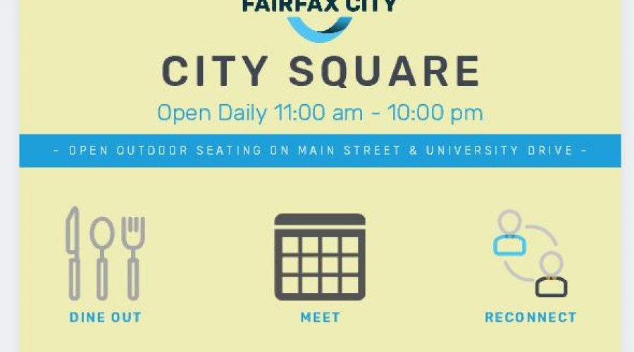 Fairfax City Introduces New Outdoor Eating Experience – City Square