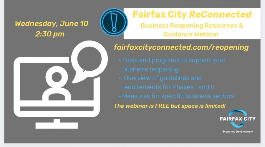 Fairfax City ReConnected – Business Reopening Resources and Guidance
