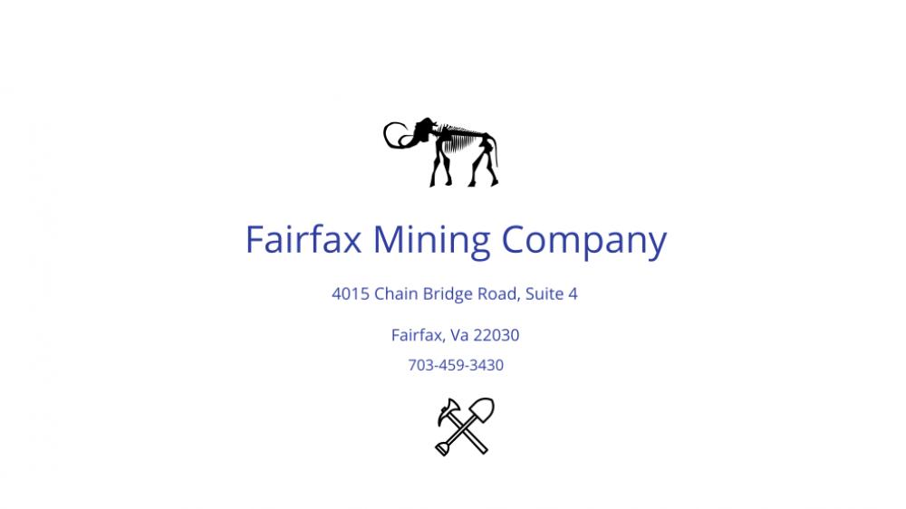fairfax mining